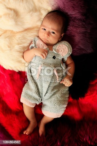 istock Cute adorable baby child 1084864562