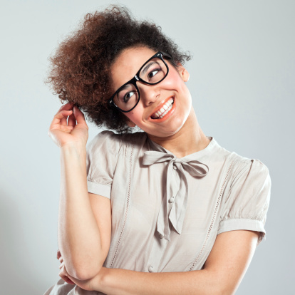 Cute Afro Girl Stock Photo - Download Image Now