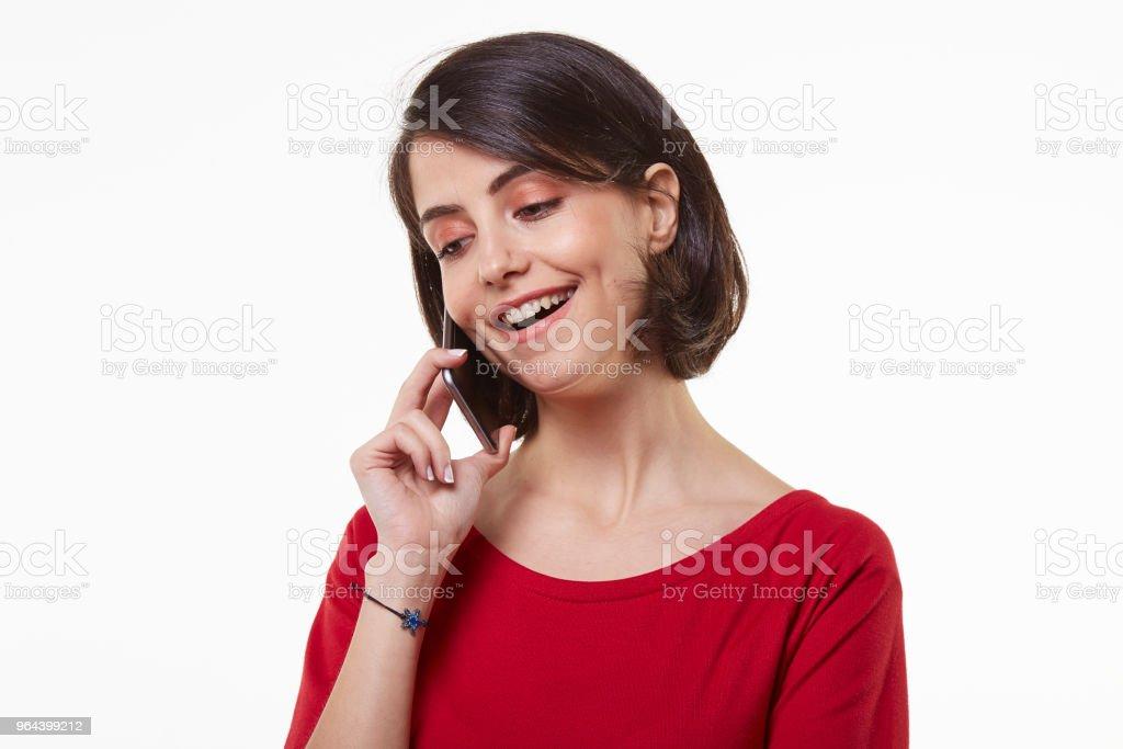 bonito e jovem mulher beleza e telefone móvel - Foto de stock de 20 Anos royalty-free