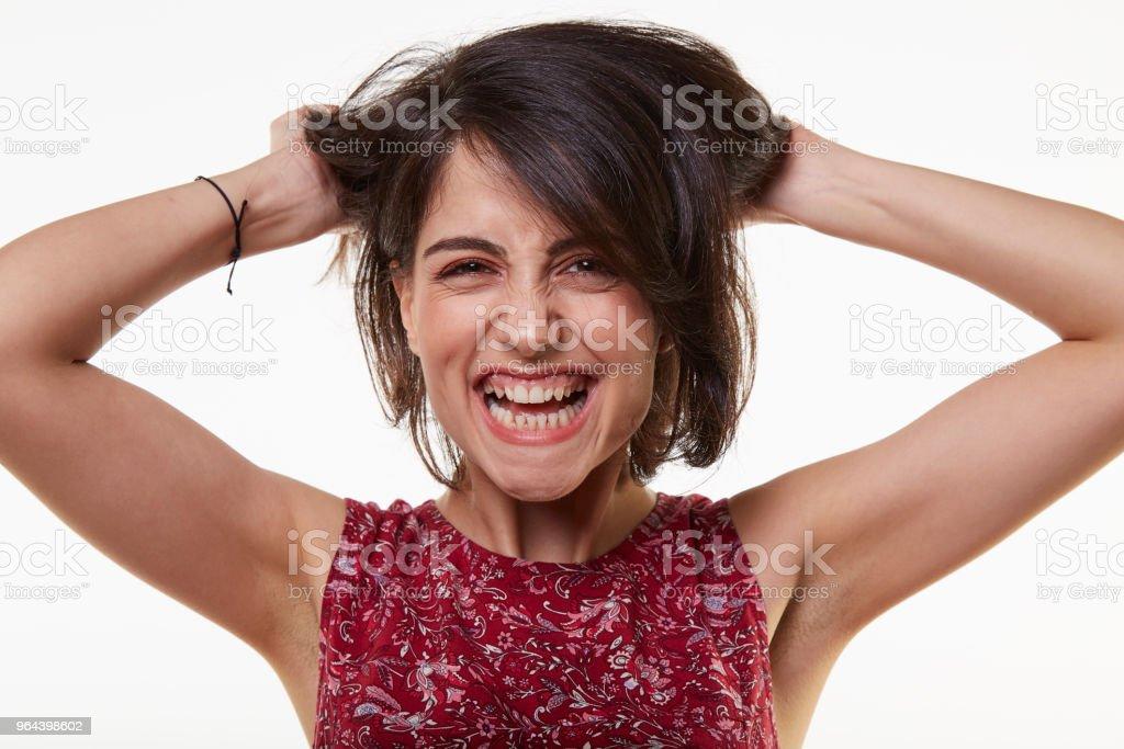 schattig en schoonheid jonge vrouw - Royalty-free 20-29 jaar Stockfoto