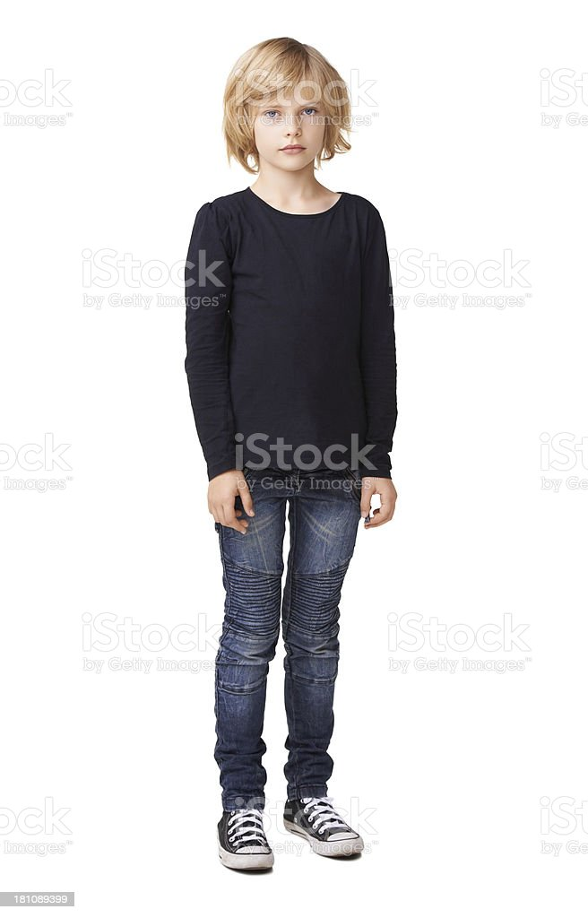 Cute and casual stock photo