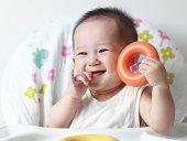 かわいいアジアの赤ちゃん