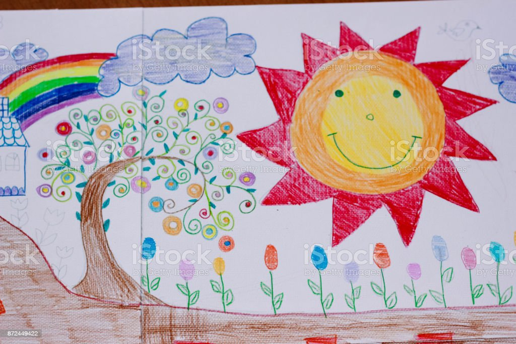 Kleurplaten Huis En Tuin.Leuke Aziatische Meisje Is Schilderen En Schilderen Huis En Tuin
