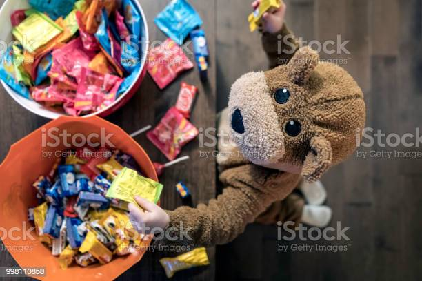 Cute baby boy inside bear costume eating or grabbing candies picture id998110858?b=1&k=6&m=998110858&s=612x612&h=wgnojgzpzidhpilack10y9f2vw6dvn3oykhi97dmwgw=
