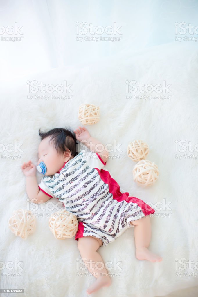 Cute Baby Boy Is Shooting In The Studio Fashion Image Of Baby And