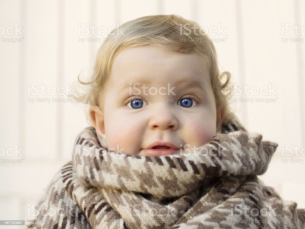 Cute Baby Boy With Blue Eyes Stock Photo Download Image Now Istock