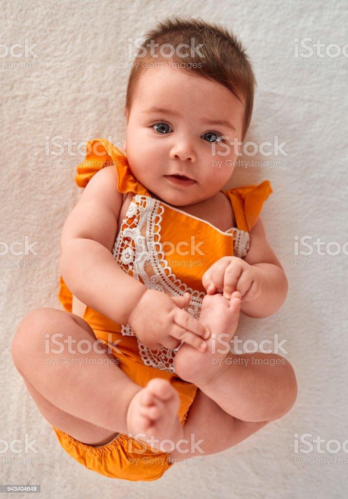 mignon bébé fille - Photo