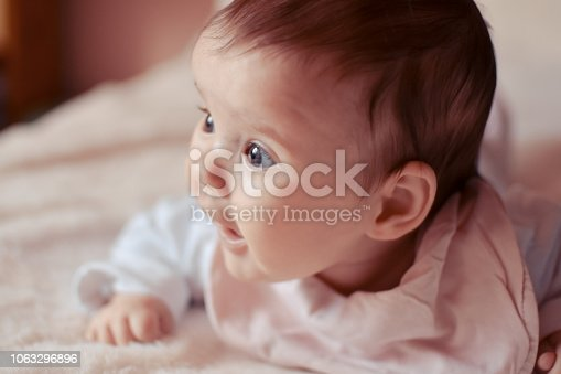 istock Cute baby 1063296896