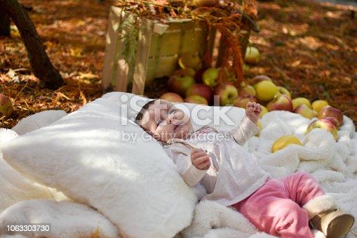 istock Cute baby 1063303730