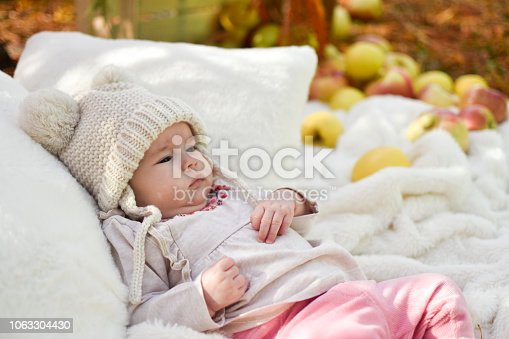 istock Cute baby 1063304430