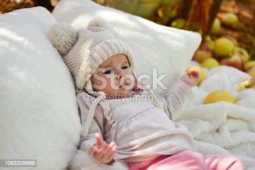 istock Cute baby 1063305666