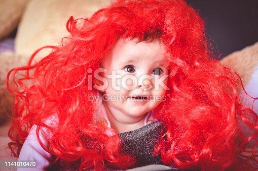 istock Cute baby 1141010470