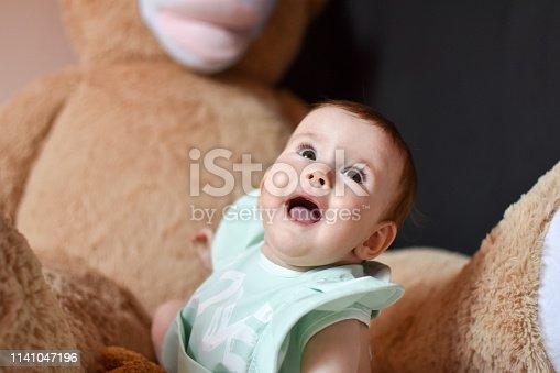 istock Cute baby 1141047196