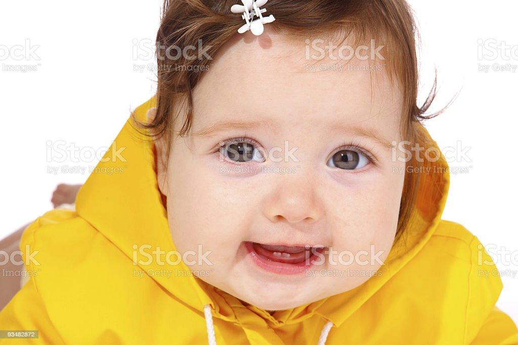 귀여운 아기 - 로열티 프리 감정 스톡 사진