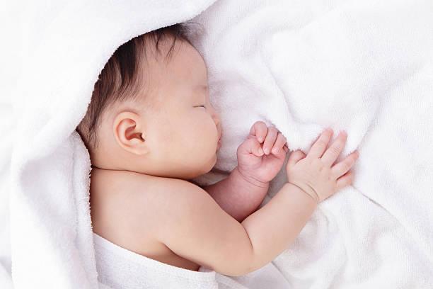 Süßes baby Schlafen – Foto