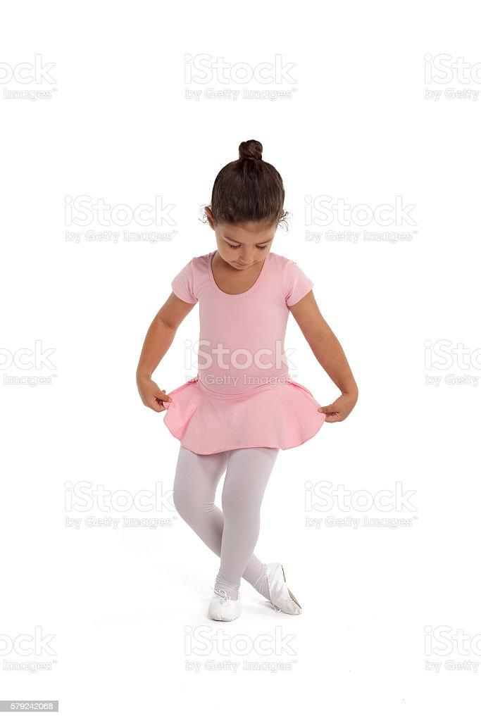 Linda ballerina - foto de acervo