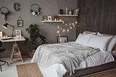 Teen bedroom nicely arranged
