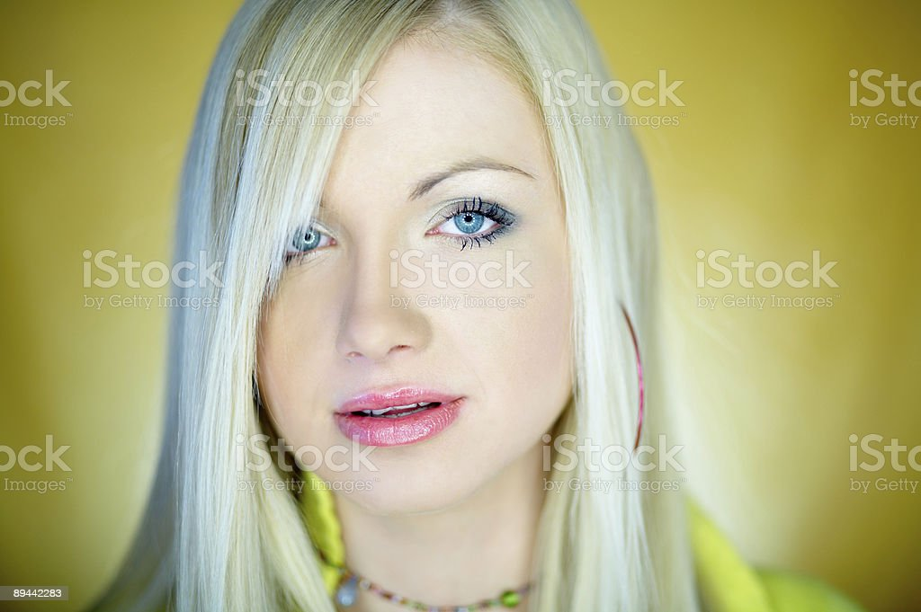 Cute Blond One royalty free stockfoto