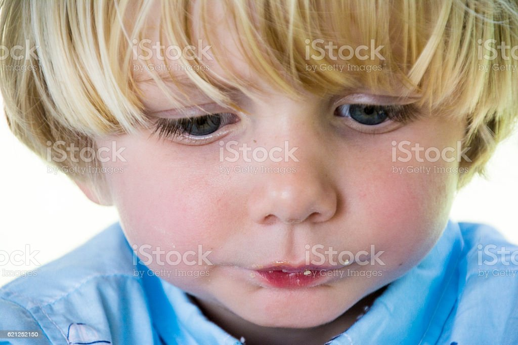 Cute Blonde Haired Boy Stock Photo More Pictures Of 2 3 Years Istock