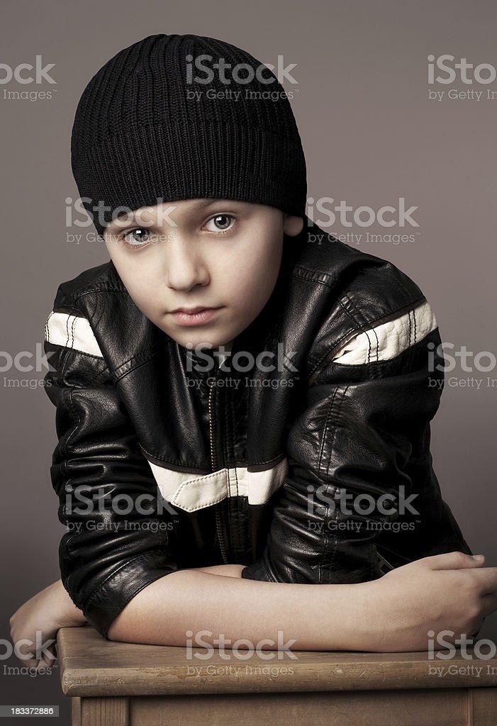 Cute boy. stock photo