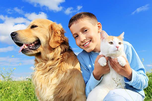 Cute boy with dog and cat outside picture id157682999?b=1&k=6&m=157682999&s=612x612&w=0&h=h0bvrplm9 oivegqgpmofuakwdljagi9hgdu56yruhm=