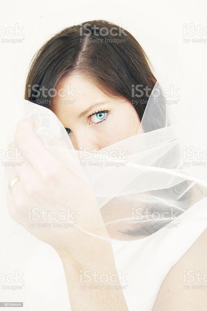 Cute Bride royalty-free stock photo