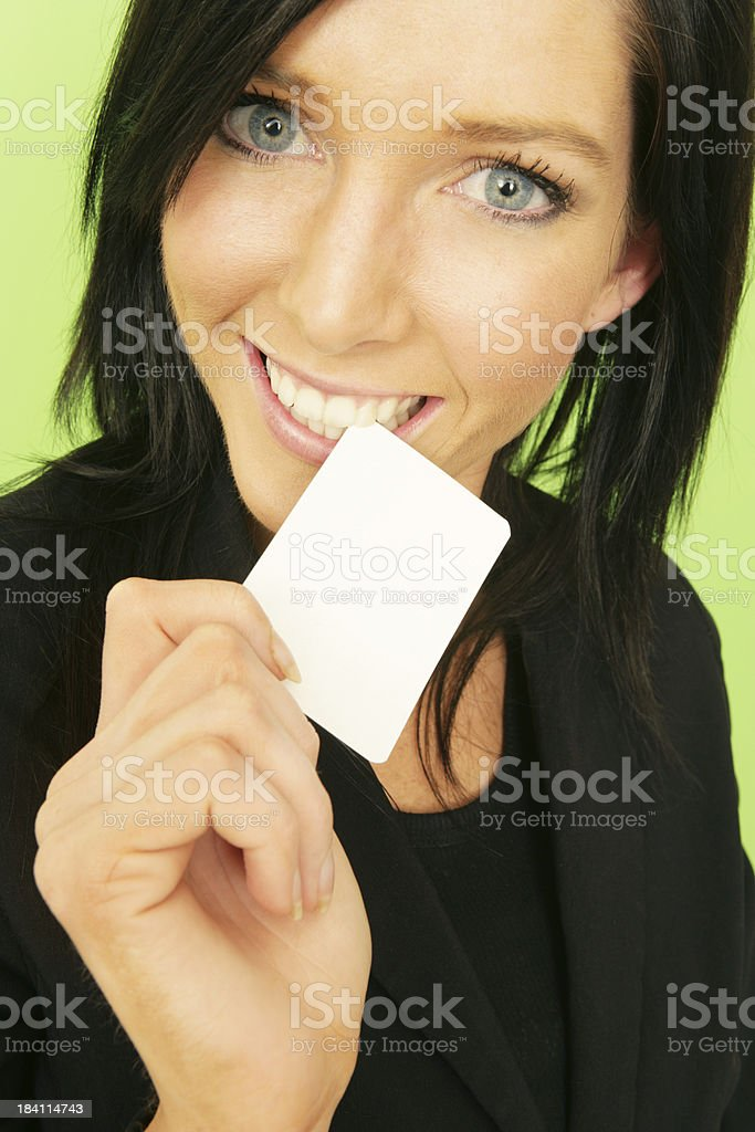 Cute Card royalty-free stock photo
