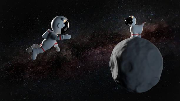 Cute cartoon astronaut character and a space dog on asteroid in white picture id908978184?b=1&k=6&m=908978184&s=612x612&w=0&h=4poxbwq1x4xbtnpu1oexc2mr rkevccz4xnyu li548=