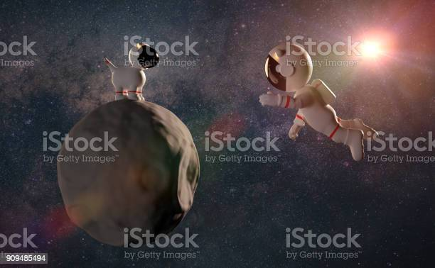 Cute cartoon astronaut character and a space dog on asteroid in white picture id909485494?b=1&k=6&m=909485494&s=612x612&h=v7bslwemm a2o7drt4mkxokshhqkgjffzquj7dvaoww=