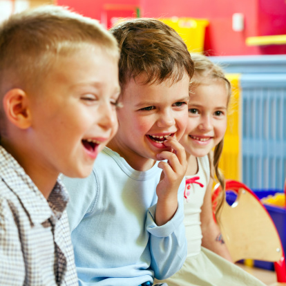 Cute Children Stock Photo - Download Image Now