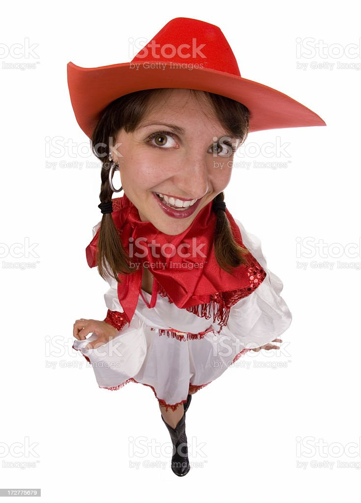 Cute Country Girl royalty-free stock photo