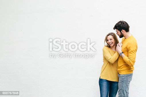 istock Cute Couple 655767848