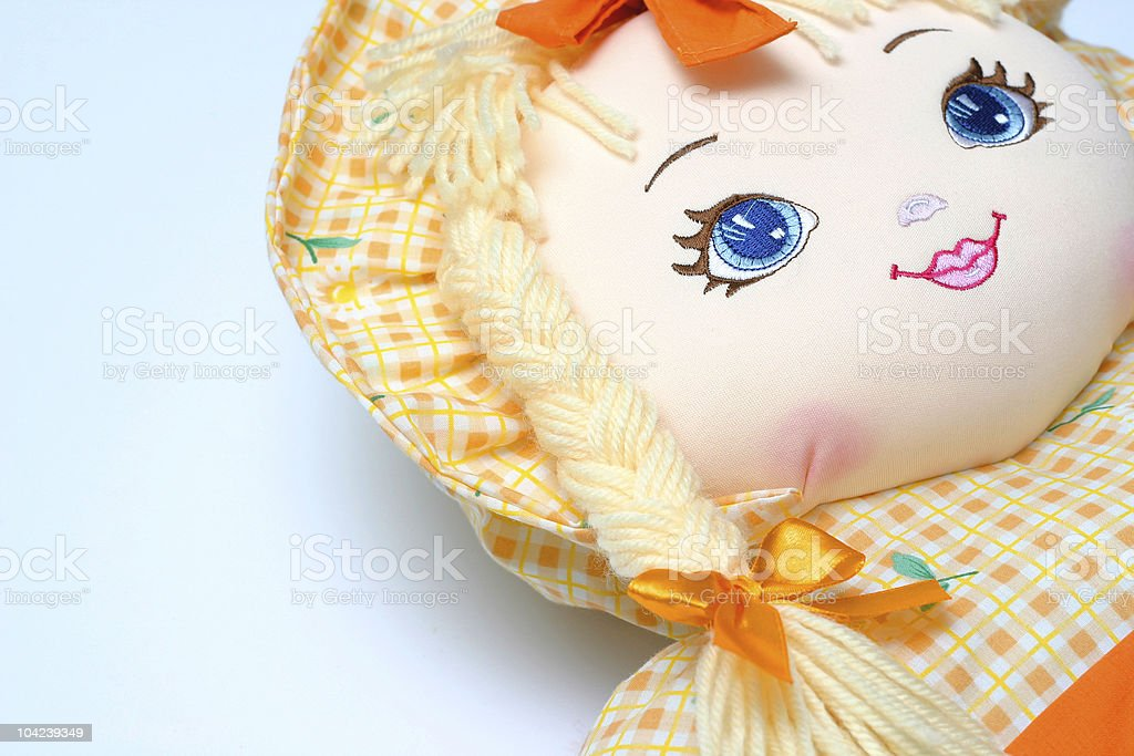 Cute Doll Detail II royalty-free stock photo