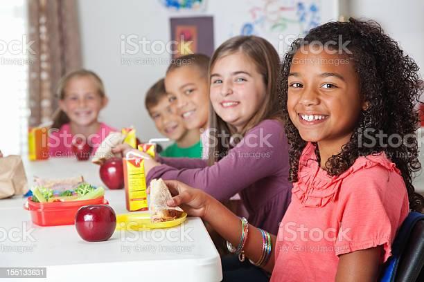 Cute elementary children having lunch at school picture id155133631?b=1&k=6&m=155133631&s=612x612&h=u olqtazemugguuawnngjkjxb9wmeaprso5jmrb0jmk=