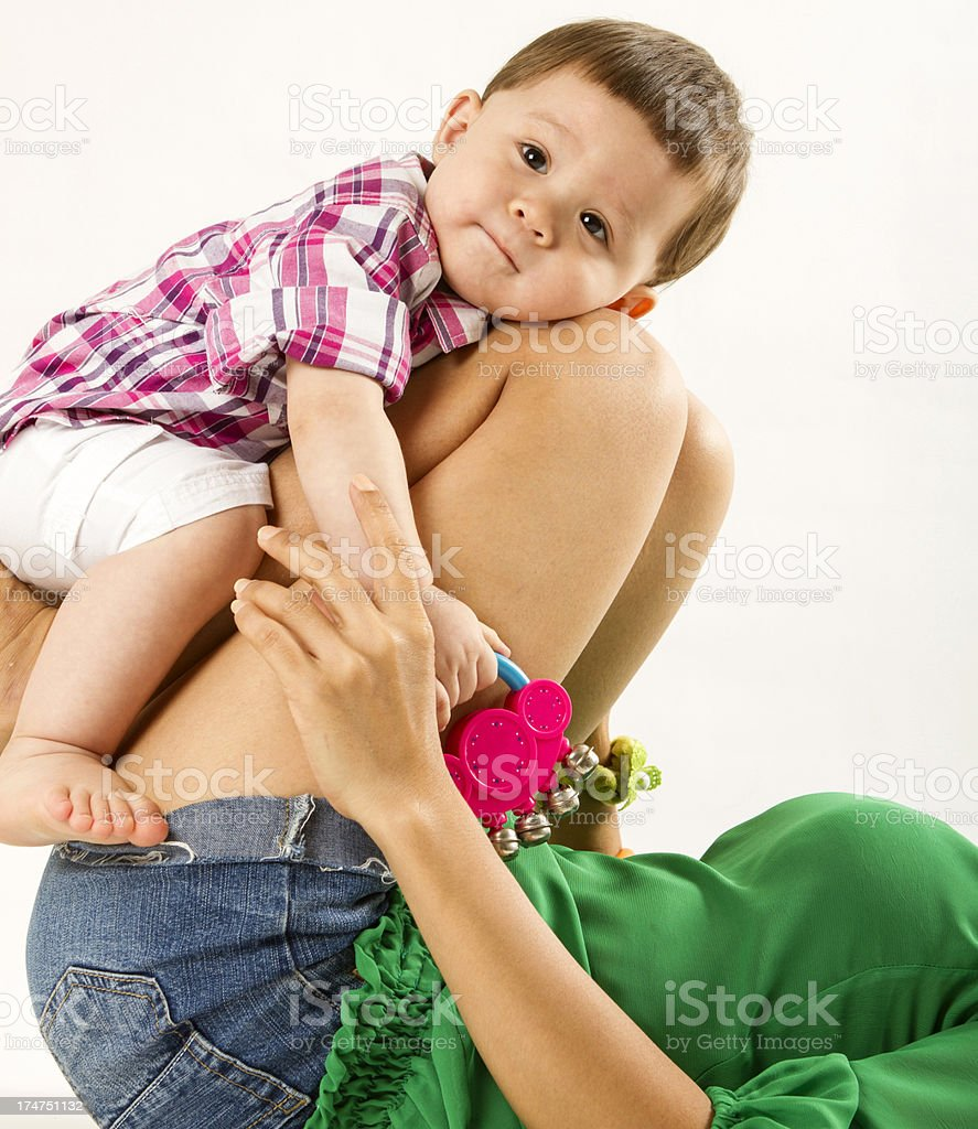 Cute Eurasian Baby With Mother Stock Photo More Pictures Of 12 17