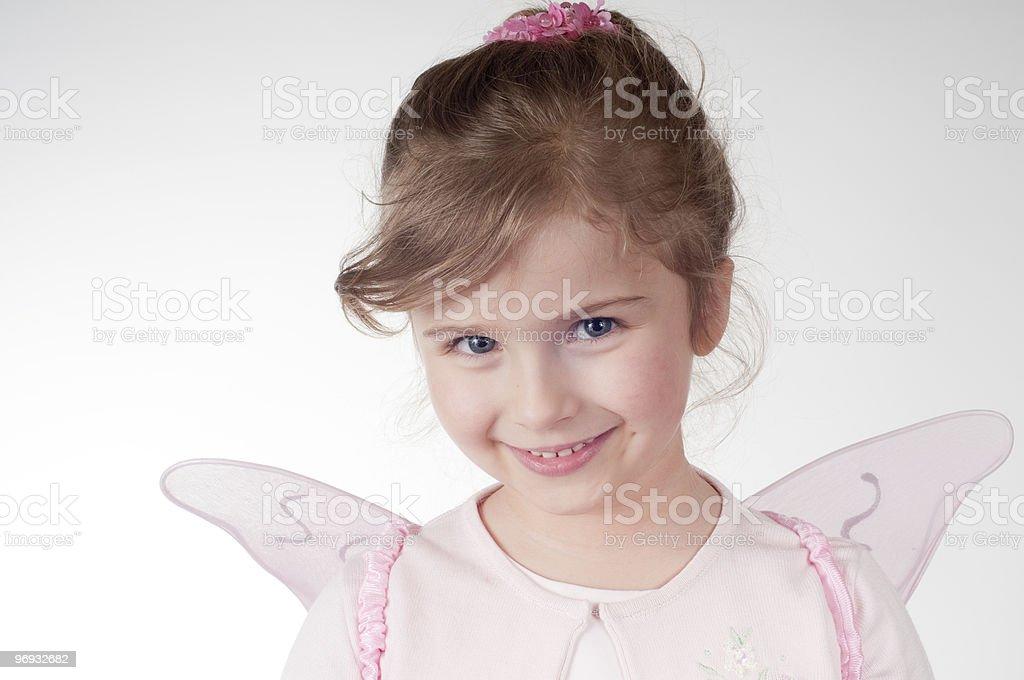 Cute fairy royalty-free stock photo