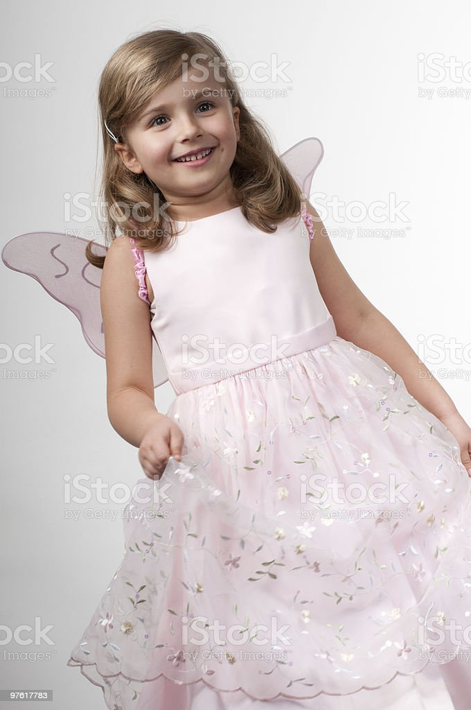 Cute fairy royalty-free stock photo