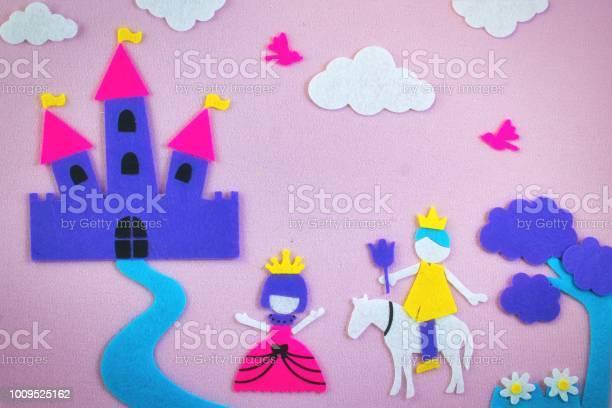 Cute fairy tale scene in felt with a princess and a prince in love in picture id1009525162?b=1&k=6&m=1009525162&s=612x612&h=ipoh0rr metlsjdtjeb1pqm2hwnsrz  mieeunwzfcq=