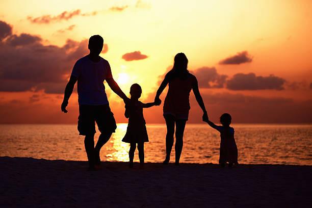 Süße Familie – Foto