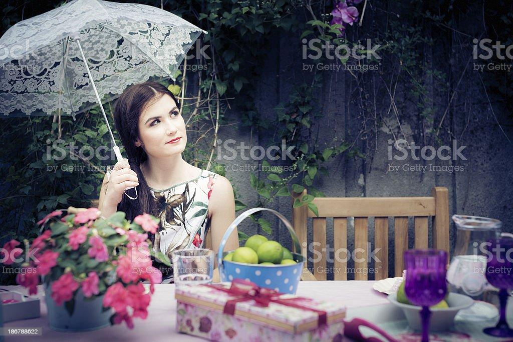 cute fashion model royalty-free stock photo