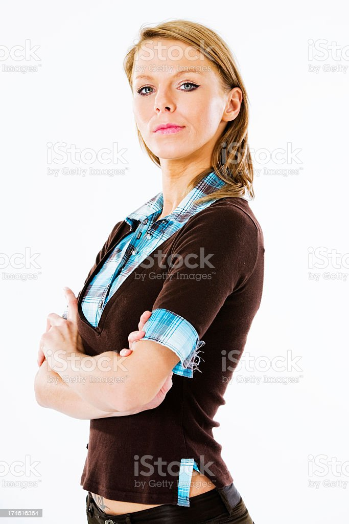 Cute Female royalty-free stock photo