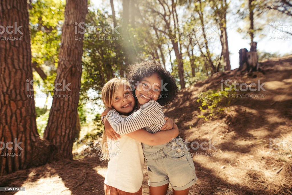 Cute friendship - Royalty-free African Ethnicity Stock Photo