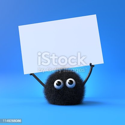 istock cute furry monster 1149268086