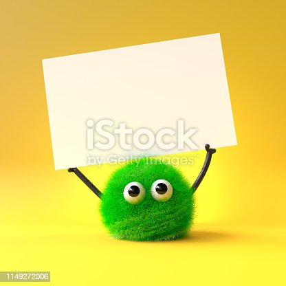 istock cute furry monster 1149272006