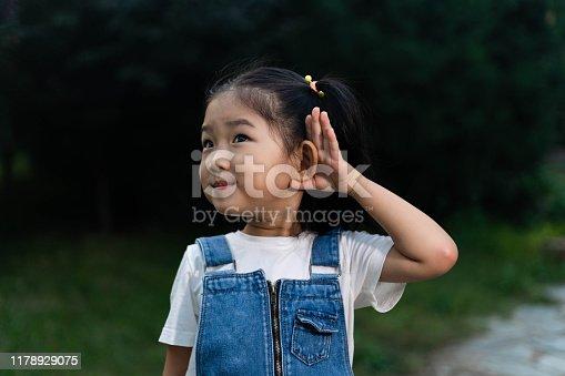 Cute Girl Listening