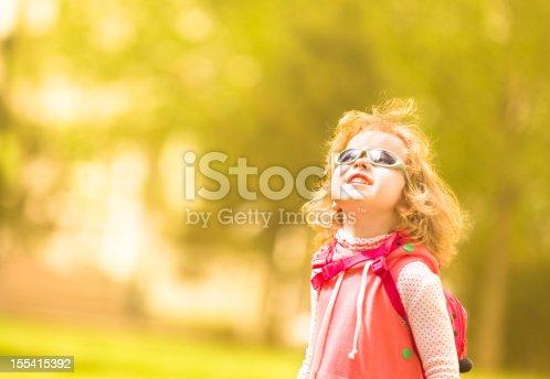 istock Cute girl 155415392