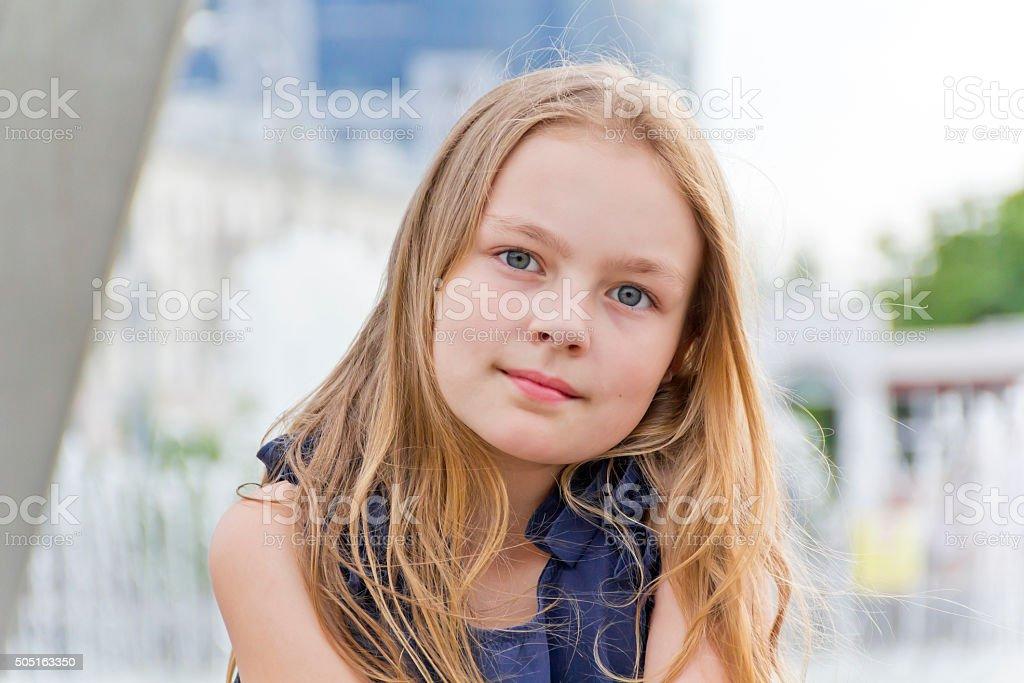 Cute girl foto