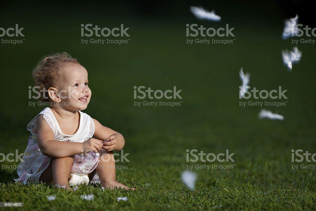 Cute girl royalty-free stock photo