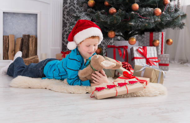 Royalty Free Handsome Little Boy Hugging A Tree Pictures Images And
