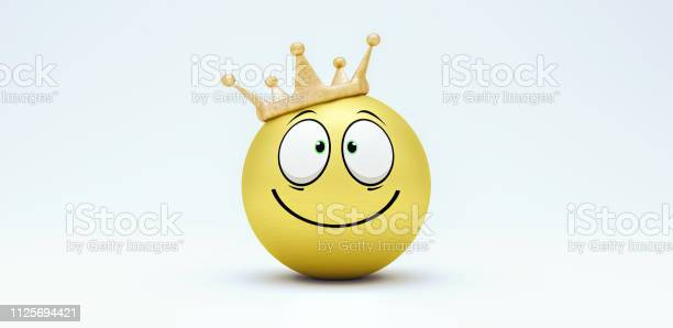 Cute happy smiley with crown 3d render picture id1125694421?b=1&k=6&m=1125694421&s=612x612&h=j9vvaxeuapua5 nayryj12eawu z3x9jdq6e bohqsw=